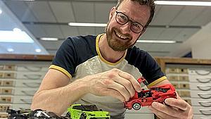 Blev ansat lidt tilfældigt: Fynbo endte med at designe de største succeser i Legos historie