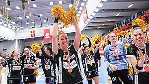 Odenseanske håndboldkvinder efter guldrus: - Det næste mål må være at vinde The Triple