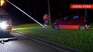 17-årig kørte vanvidskørsel i Odense: Folk måtte springe til side for rød Citroën