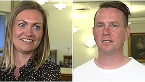 Dagen efter genåbningen: Julie og Chris har udskudt bryllupsfesten flere gange – nu prøver de igen
