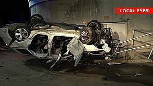 Kørte ud over Odins Bro: 19-årig sigtet efter hasarderet ulykke