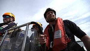 Ny bådejer havde sejlet i 14 minutter - så blev han stoppet af politiet
