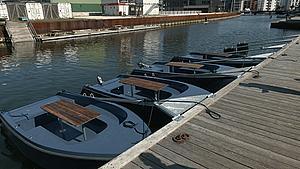 Snart kan du leje en båd på havnen