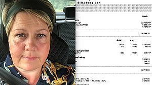 Sygeplejerske Gitte viser sin løn frem: Kan ikke genkende de 42.800 kroner