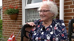 Esther fra Sydfyn fylder 100: - Jeg har jo ikke regnet alder for noget