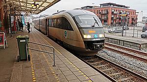 Arriva straffes for mangelfuld togdrift på Svendborgbanen